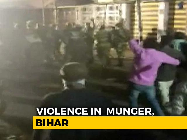 Video : Man Killed, Many Hurt In Firing During Idol Immersion In Bihar's Munger