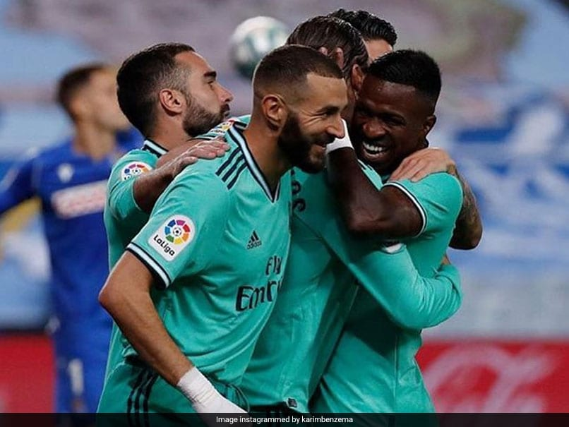 Zinedine Zidane Says Karim Benzema And Vinicius Junior Moving On After Spat