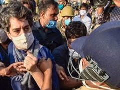 UP Police Apologises For Priyanka Gandhi's Manhandling, Orders Probe