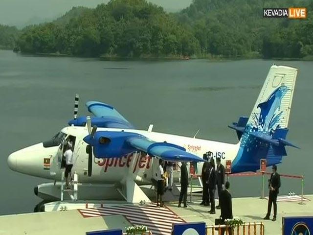 Video : PM Modi Inaugurates Sabarmati Seaplane Service
