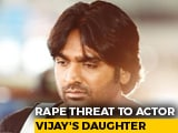 Video : Actor Vijay Sethupathi's Daughter Gets Rape Threat Over Muttiah Muralitharan Biopic Row