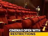 Video : Cinema Halls Reopen But Customers Are Few
