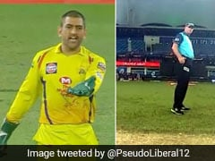 IPL 2020: एमएस धोनी ने किया इशारा और अंपायर ने बदल लिया फैसला, ट्विटर पर भिड़ गए फैन्स और दर्शक - देखें Video
