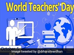 World Teachers' Day: Amid COVID, Teachers Make Sure No One Is Left Behind
