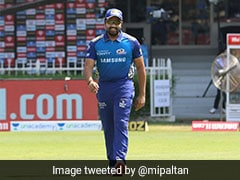"""""""We Are Excited"""": Kieron Pollard Gives Update On Rohit Sharma's Injury After Win Over Delhi Capitals"""