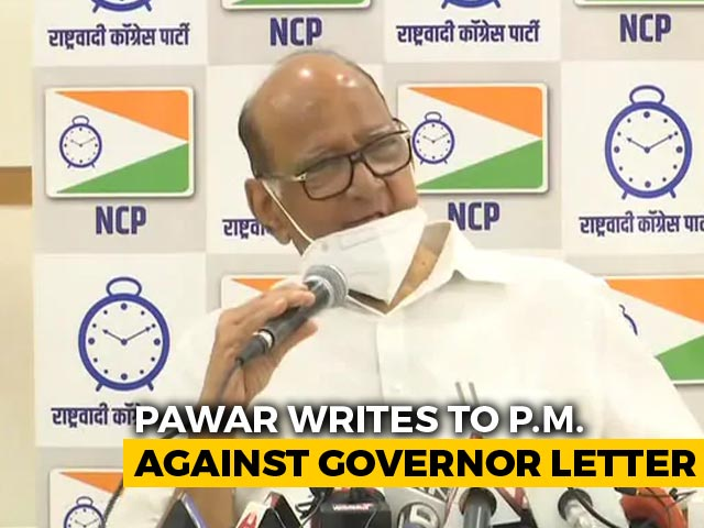 "Video : In ""Secular"" Row For Uddhav Thackeray And Governor, Sharad Pawar's Letter To PM Modi"