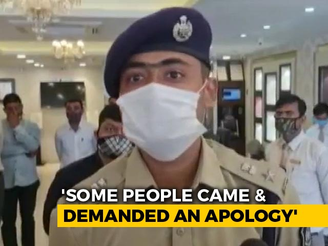 Video : Threats Made At Tanishq Store In Gujarat, Police Patrolling Area: Cops
