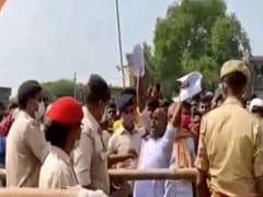 बिहार चुनाव : सीएम नीतीश कुमार की रफीगंज की जनसभा में हुआ हंगामा