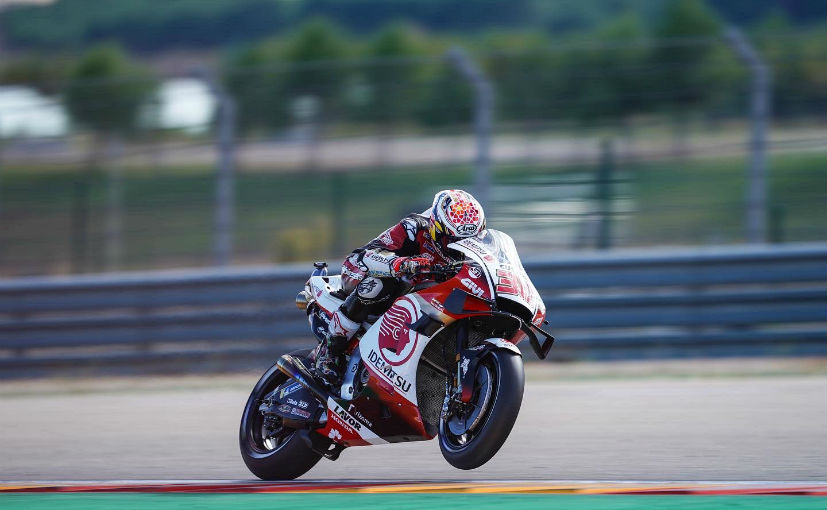Takaaki Nakagami secured his first pole, 2 years since moving up to the premier-class from Moto2