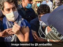प्रियंका गांधी से पुलिस की बदसलूकी पर सुरजेवाला का वार - 'ऐसी गुंडई पर उतरी भाजपा सरकार और...'