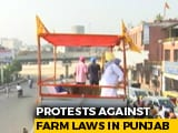 Video : 2 Lakh People To Join Farm Protests In 40,000 Vehicles In Punjab