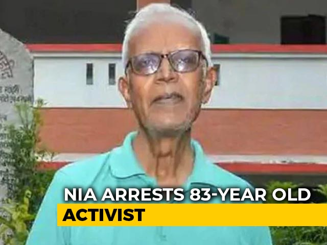 Video : Activist Stan Swamy, 83, Sent To Jail Till Oct 23 In Koregaon-Bhima Case