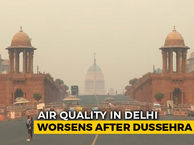 Video : Stubble Burning Not Only Reason For Delhi's Air Pollution, Says Data