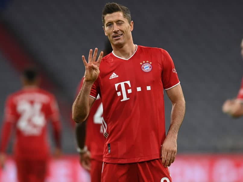 Robert Lewandowski Hits Four As Bayern Munich Win Seven-Goal Thriller