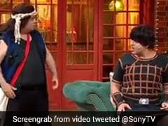 'सनी देओल' और 'धर्मेंद्र' के बीच कपिल शर्मा शो में हुई गर्मागर्मी, बोले- बेटे भड़क क्यों रहा है...देखें Video