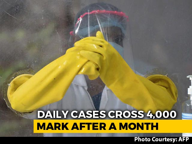 Video: Delhi's Covid Spike Hits 4,000 Amid Nationwide Decline In Daily Cases