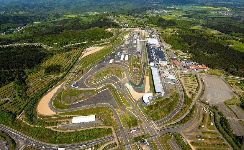F1 legend Michael Schumacher won at Nurburgring a record five times