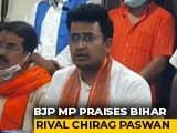 Video : BJP MP Praises Chirag Paswan, Ally Nitish Kumar's Biggest Headache
