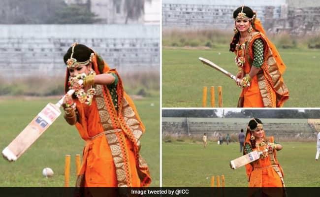 Bangladesh Cricketer Sanjida Islam's Unique Wedding Photoshoot Goes Viral on internet