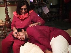 "On <i>A Suitable Boy</i> Director Mira Nair's Birthday, A Pic Of Ishaan Khatter ""Being Mollycoddled By Her"""