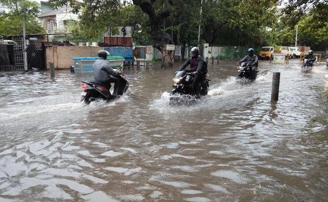 Chennai Waterlogged As 20 Centimetre Rain Reminds Of 2015 Floods