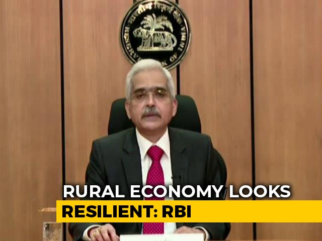 Video : Silver Lining Is Visible In Fight Against COVID-19: RBI Governor Shaktikanta Das