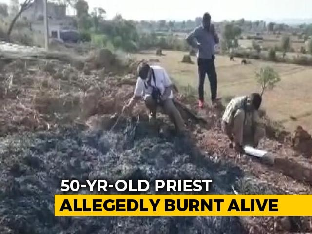Video : Rajasthan Priest Burnt Alive; Attacked Over Land, He Said Before Dying