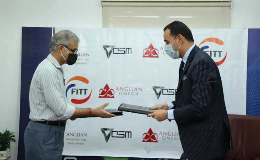 Dr Anli Wali, MD, FITT and Uday Narang, Chairman, Omega Seiki Mobility