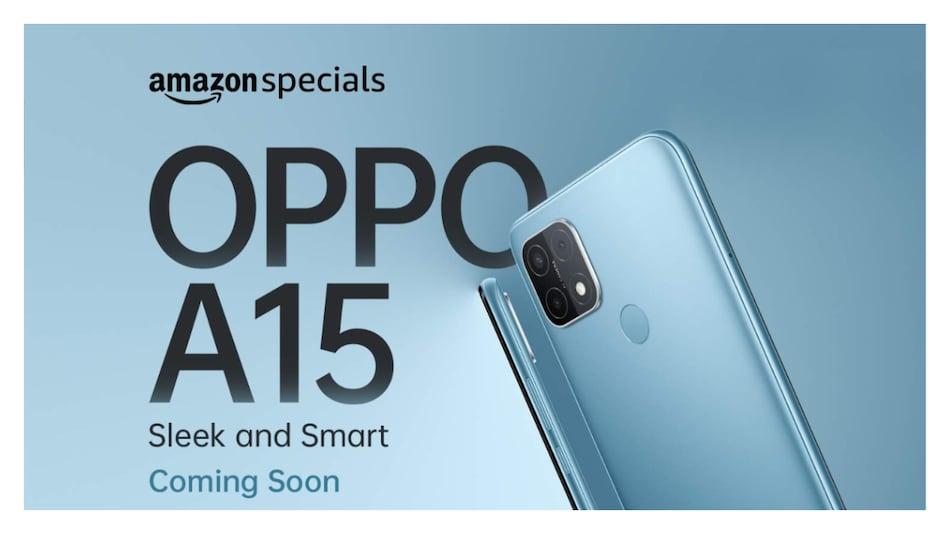OPPO A15 जल्द देगा भारत में दस्तक, Amazon India पर दिखी डिज़ाइन की झलक
