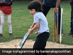 करीना कपूर ने तैमूर का क्रिकेट खेलते हुए Photo किया शेयर, बोलीं- आईपीएल में कोई जगह है...