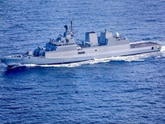Made In India Stealth Corvette INS Kavaratti Commissioned Into Navy