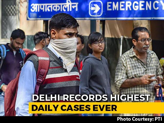 Video : Delhi Records Highest Single-Day Covid Cases At 5,891