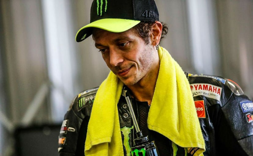 Valentino Rossi took to social media to share the news of his COVID-19 test results