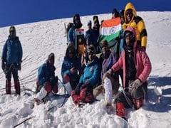 ITBPकी पर्वतारोही टीम ने गंगोत्री-2 चोटी पर लहराया तिरंगा