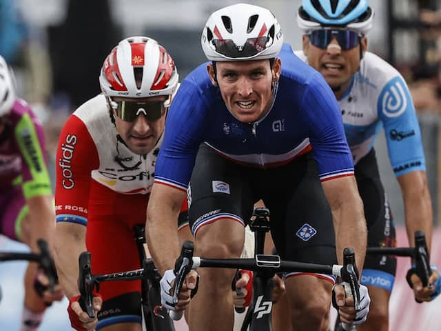 Frances Arnaud Demare Wins Giro dItalia 6th Stage, Joao Almeida Retains Lead