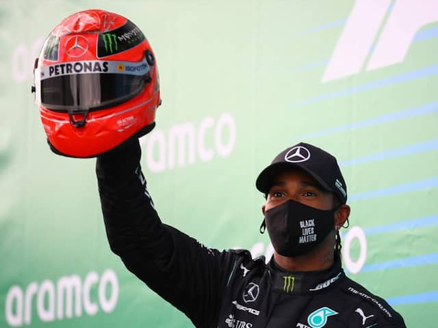 Lewis Hamilton Warns He Will Keep Racing Until He Starts To Grey