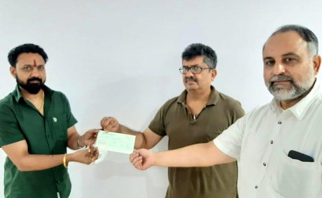 लखनऊ विश्वविद्यालय के कर्मचारी ने अयोध्या में मस्जिद निर्माण में दिया योगदान