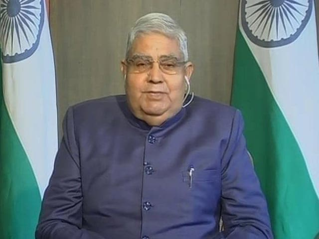Video : COVID-19 Has Opened Our Eyes: Jagdeep Dhankar, West Bengal Governor