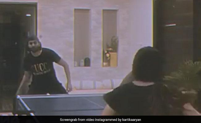 Kartik Aaryan Loses A Table Tennis Match To Sister Kritika. His ROFL Reason