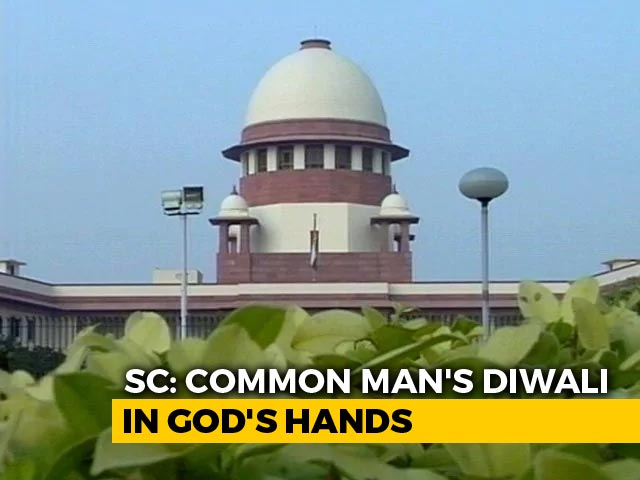 """Video : """"Common Man's Diwali..."""": Top Court Nudge For Loan Relief By November 2"""