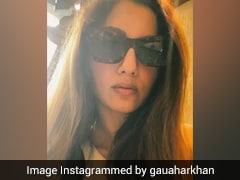 Gauahar Khan Celebrates Her Return From The Bigg Boss House In Funky Shades