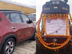 Kia Motors India Has Transported 5,000 Cars Using Indian Railways So Far