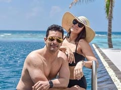 "Neha Dhupia And Angad Bedi, In A ""Maldives State Of Mind"", Share Stunning Pics From Vacation"