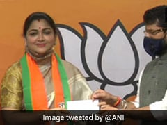 Khushbu Sundar Joins BJP, Says Congress Leaders Out Of Touch With Reality