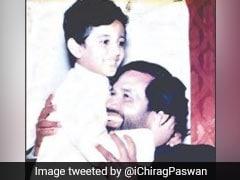 ''मिस यू पापा'': पिता की मौत से दुखी चिराग पासवान ने ट्वीट की यह फोटो