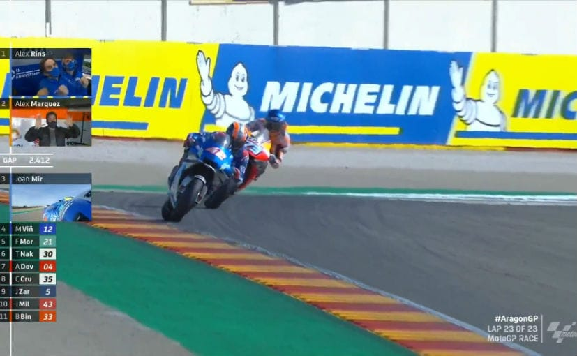 Alex Rins claimed his first win of the season and was 8th different winner of 2020