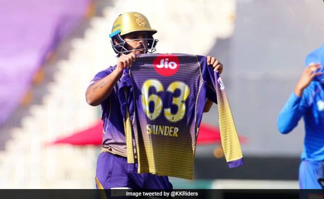 Nitish Rana dedicates his 50s to his father in law, who passed away yesterday Watch video KKR Vs DC