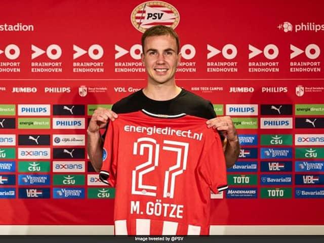Germanys World Cup Hero Mario Goetze Joins PSV Eindhoven