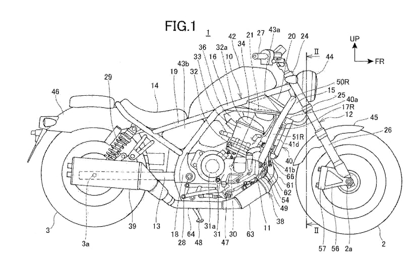 Honda's latest patents reveal new Rebel 1100 with Africa Twin's DCT engine