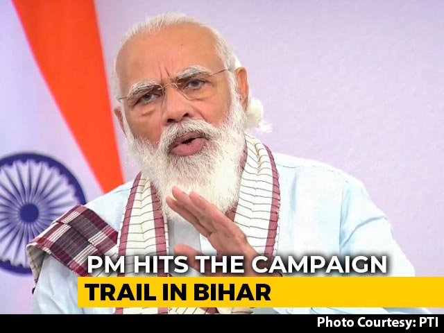 Video: PM Modi To Begin Bihar Campaign Today
